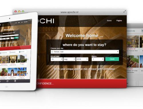 طراحی سایت و پشتیبانی سایت شرکت APOCHI