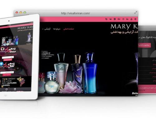 طراحی سایت و پشتیبانی سایت مری کی