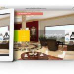 طراحی سایت و پشتیبانی سایت شرکت طراحی داخلی پروانه پاشایی