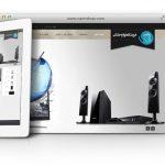 طراحی سایت و پشتیبانی سایت تایتان نماینده کولر های گازی ال جی