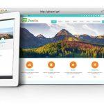 طراحی سایت و پشتیبانی سایت شرکت گردشگری گرین لاین