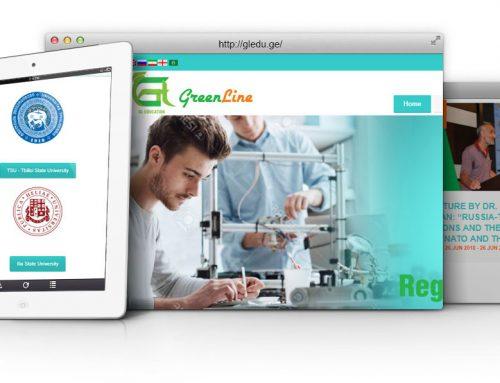 طراحی سایت و پشتیبانی سایت شرکت آموزشی گرین لاین