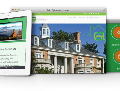 طراحی سایت و پشتیبانی سایت شرکت گرین لاین