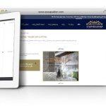 طراحی سایت و پشتیبانی سایت شرکت آنزا پتینه