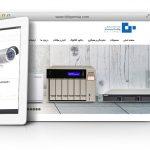 طراحی سایت و پشتیبانی سایت شرکت پرشیا سیستم