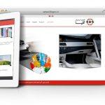 طراحی سایت و پشتیبانی سایت شرکت کیمیا بسپار گلپا